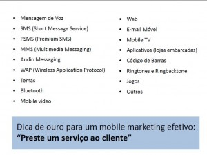 Ações de mobile marketing