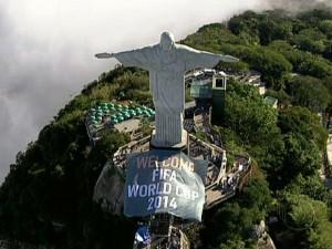Boas Vindas para a Copa de 2014 no Brasil
